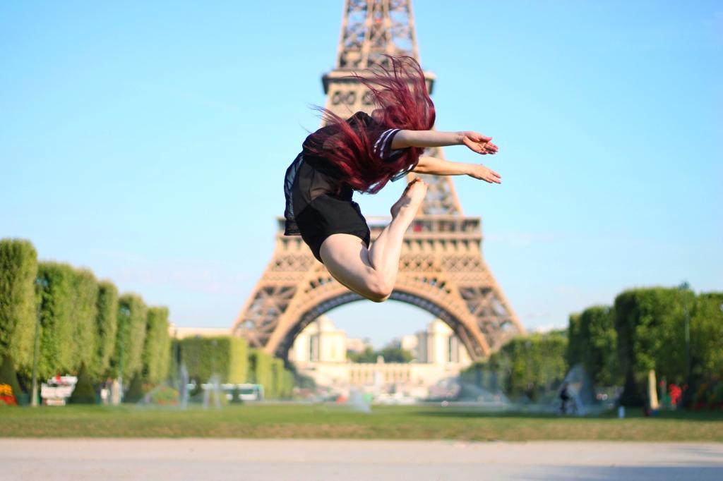 A la Tour Eiffel